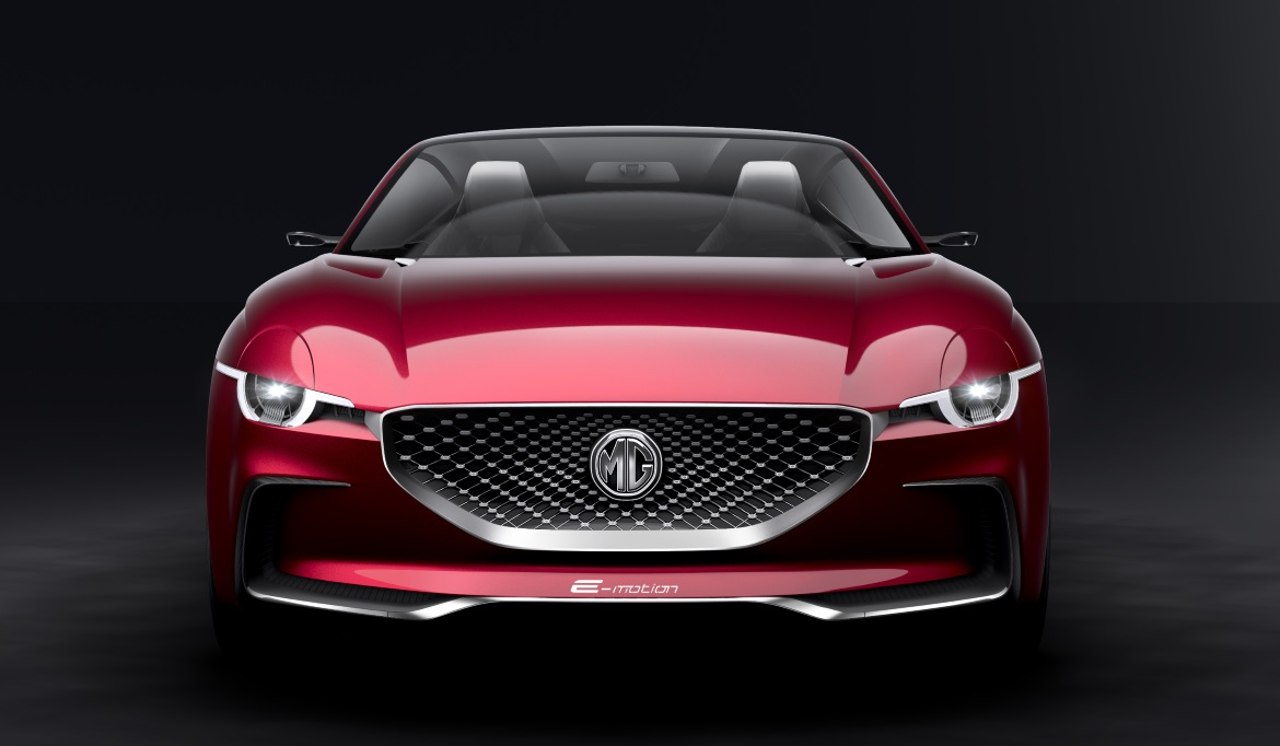MG Goes Back To The Future With Two-Door, All-Electric Sports Car | Electrifying