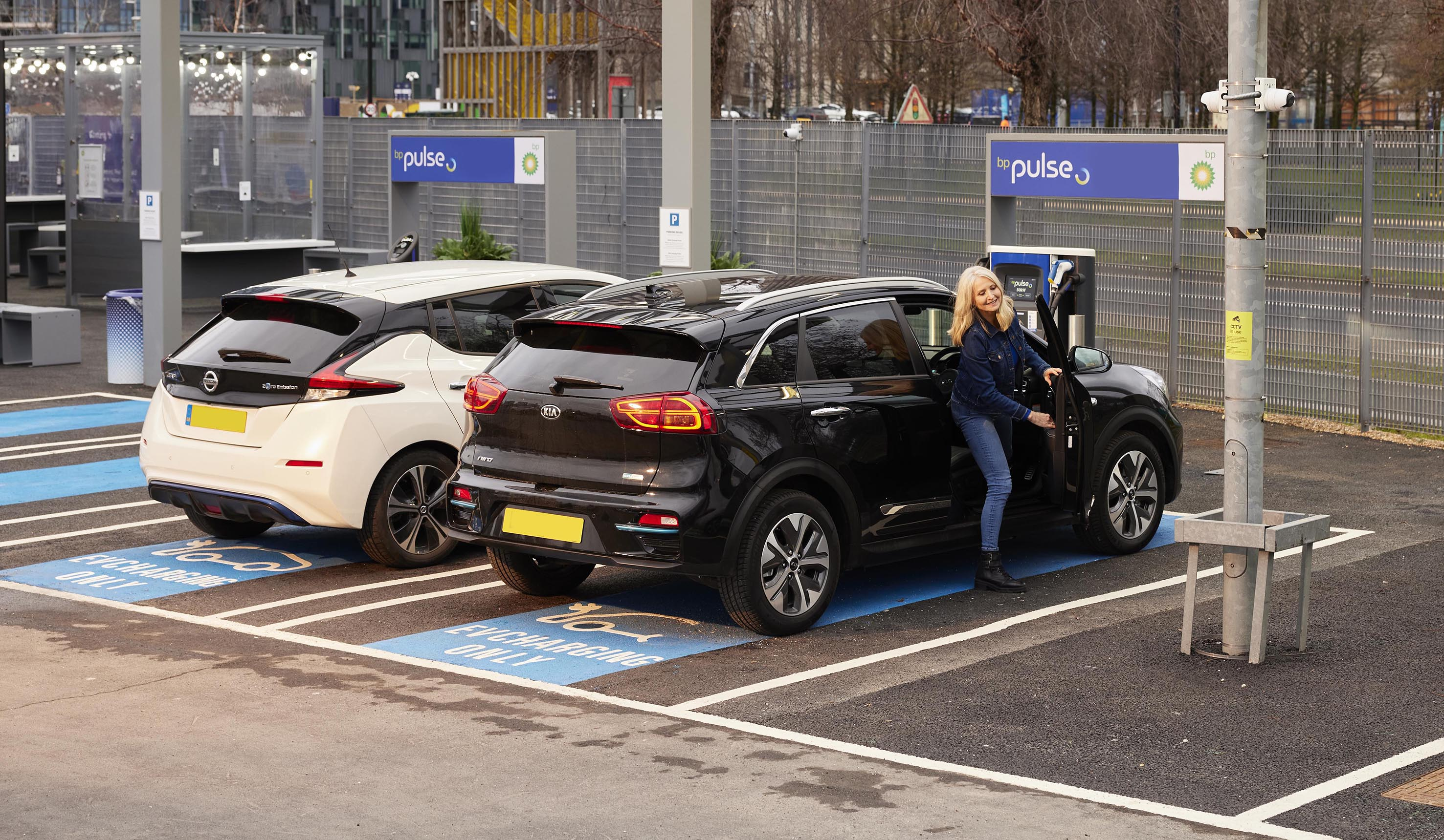bp pulse electric car charging point