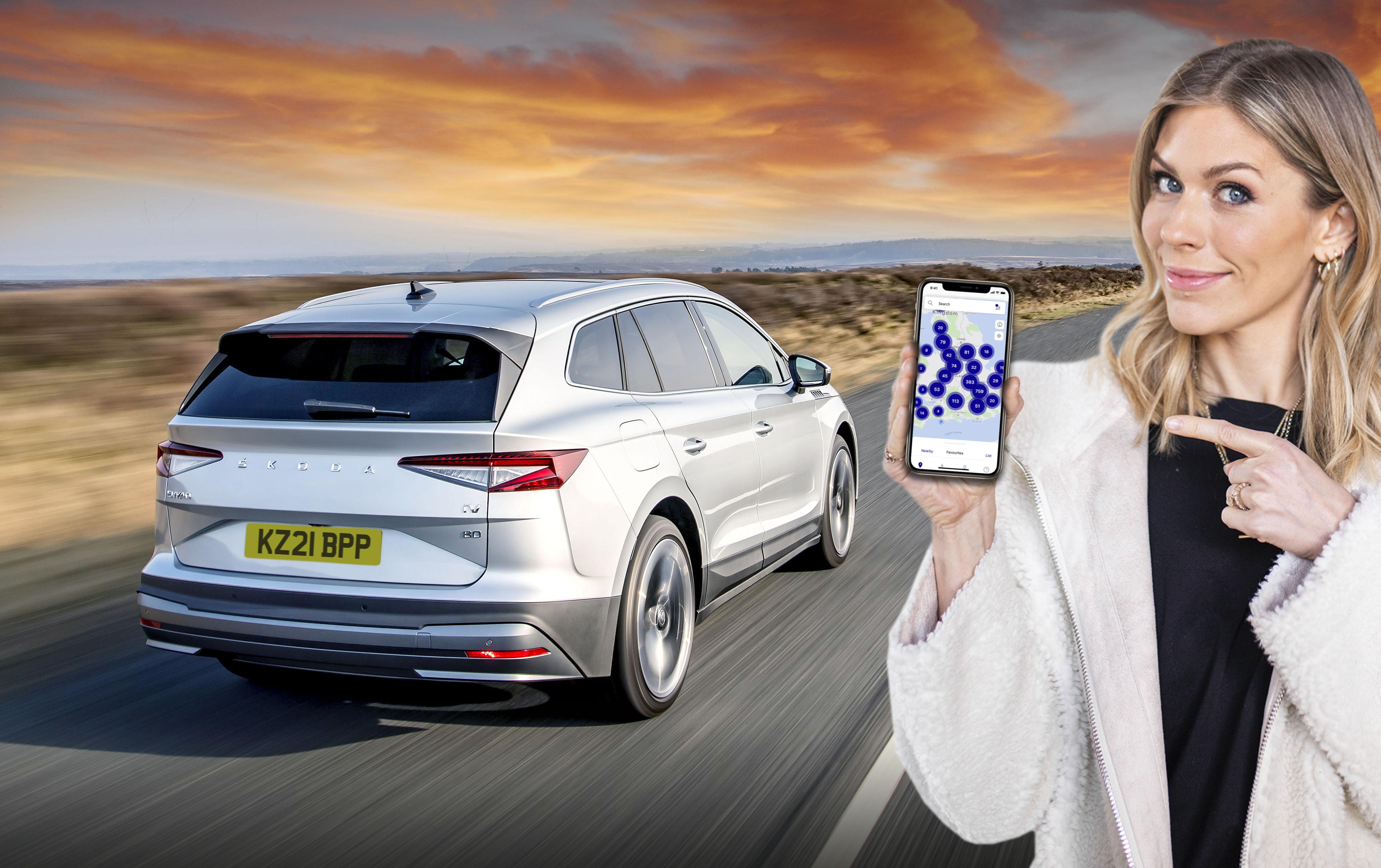 bp pulse electric car charging network app