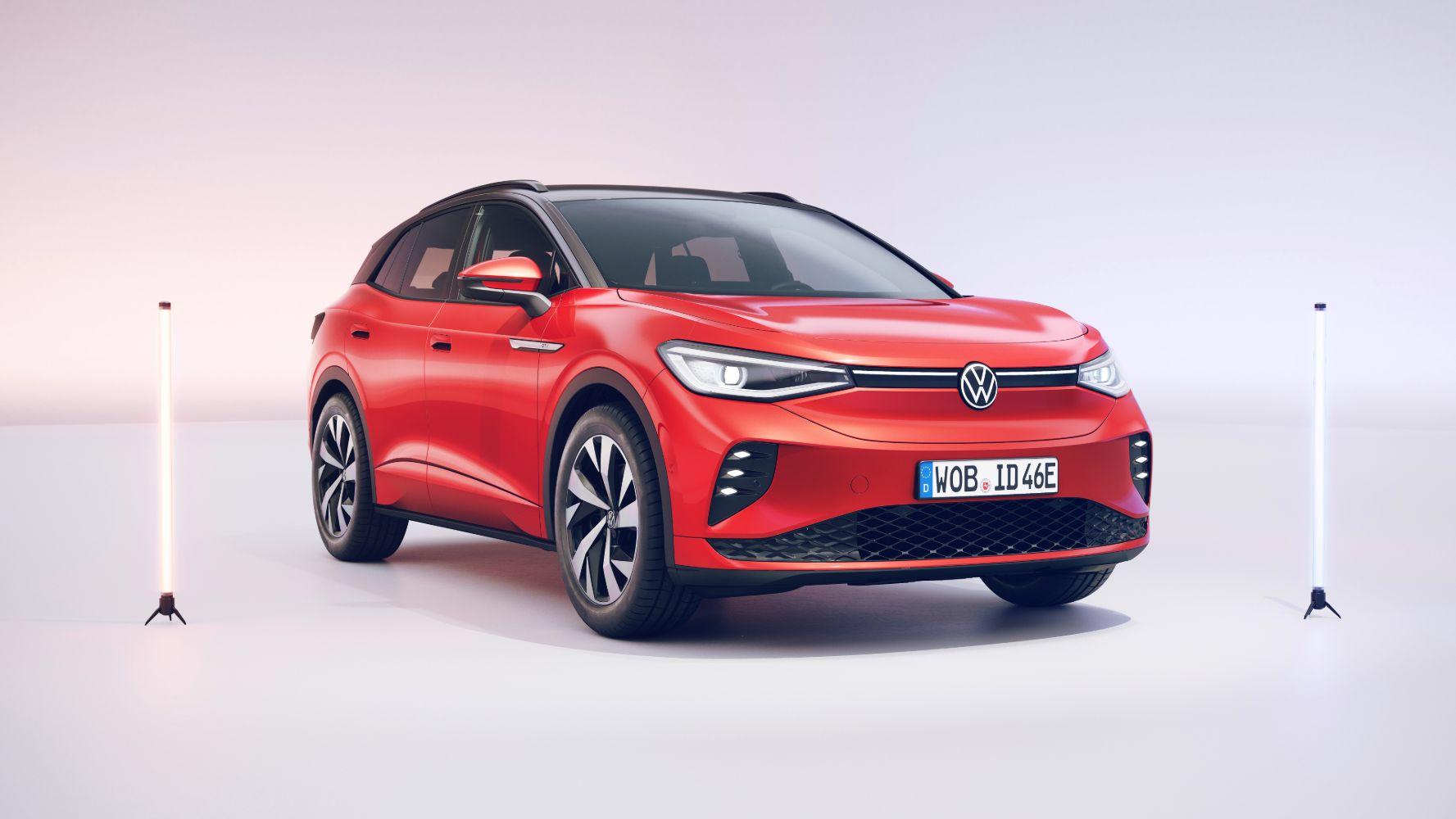 Volkswagen electric VW ID.4 GTX electric car